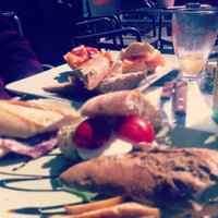 Photo taken at Brasserie 't Ogenblik by Roy D. on 4/22/2012