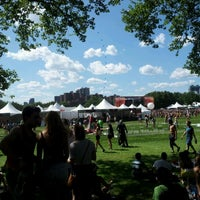 Photo taken at Randall's Island by Marco V. on 6/23/2012