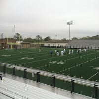 Photo taken at Veterans Memorial Stadium by Doris H. on 3/10/2012
