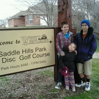 Photo taken at Saddle Hills Disc Golf Course by Karri S. on 2/12/2012