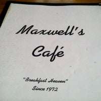 Photo taken at Maxwell's Café by Charlie S. on 5/6/2012
