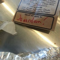 Photo taken at Which Wich? Superior Sandwiches by Jordan K. on 7/22/2012