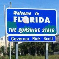 Photo taken at Alabama / Florida State Line by Edward H. on 3/28/2012