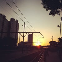 Photo taken at Estação São Caetano do Sul (CPTM) by Bruno D. on 2/8/2012