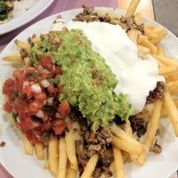 Photo taken at Taqueria Los Coyotes by Kelly . on 4/3/2012