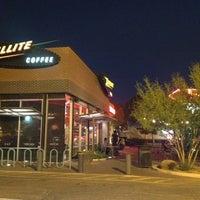 Photo taken at Satellite Coffee by Justin B. on 5/27/2012