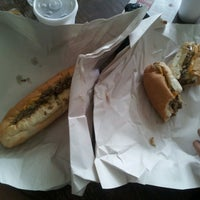 Photo taken at Izzy's Hoagie Shop by Alexandra I. on 9/4/2012