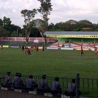 Photo taken at Stadion Taruna by dhimas a. on 5/12/2012