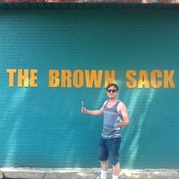 Photo taken at The Brown Sack by Mike M. on 6/30/2012