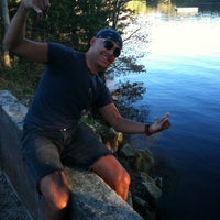 Photo taken at Lake Wequaquet by Caio F. on 9/10/2011