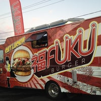 Photo taken at Fukuburger Truck by Larry K. on 7/4/2012