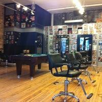Photo taken at Urban Joe Barber Salon by Corey C. on 2/17/2011