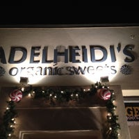 Photo taken at Adelheidi's Organic Sweets by Vance W. on 12/30/2011