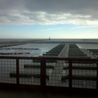 Photo taken at Sheboygan Harbor Center Marina by Beefy C. on 12/19/2011