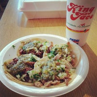 Photo taken at King Taco Restaurant by Ambriss R. on 8/4/2012