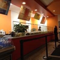 Photo taken at Halfmoon Creative Salads by Zach F. on 2/9/2012