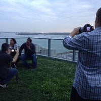 Photo taken at Visionaire Sky Garden by Tom M. on 7/20/2012
