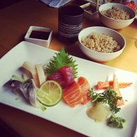 Photo taken at Symphony Sushi by Gloria C. on 9/6/2012