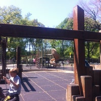 Photo taken at Central Park - 96th Street Playground by David C. on 4/29/2012