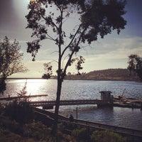 Photo taken at Lake Miramar Reservoir by Michael T. on 5/5/2012