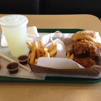 Photo taken at Honey's Kettle Fried Chicken by James S. on 4/11/2012