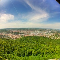 Photo taken at Stuttgart Television Tower by Canha B. on 5/17/2012