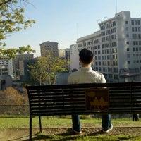 Photo taken at Tom Hansen's Bench (500 Days of Summer) by William G. on 12/27/2011