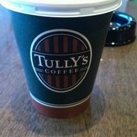 Photo taken at Tully's Coffee by Moto N. on 1/19/2012