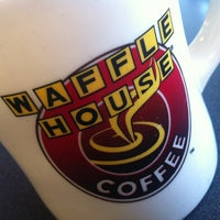 Photo taken at Waffle House by Ken P. on 6/18/2012