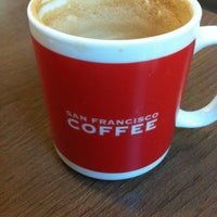 Photo taken at San Francisco Coffee by Shehzaad R. on 9/5/2012