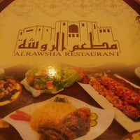 Photo taken at Al Rawsha Restaurant by Abdul A. on 4/30/2012