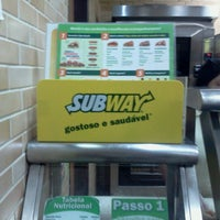 Photo taken at Subway by Isabella I. on 7/17/2012