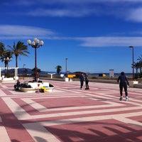 Photo taken at Paseo Maritimo by Jose on 1/29/2012