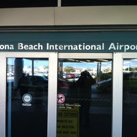 Photo taken at Daytona Beach International Airport (DAB) by Jackson S. on 1/16/2011