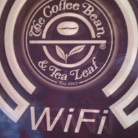 Photo taken at The Coffee Bean & Tea Leaf by Andrea M. on 11/13/2011