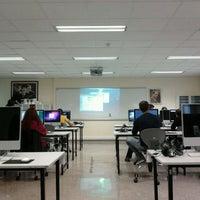 Photo taken at Yeditepe University VCD Department by Deniz Ege T. on 4/19/2011
