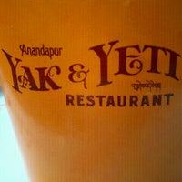Photo taken at Yak & Yeti Anandapur Local Foods Cafe by John M. on 3/19/2012
