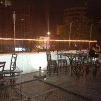 Photo taken at Luna Café by Paty on 9/4/2012