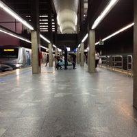 Photo taken at Ana Rosa Station (Metrô) by Luana M. on 5/24/2012