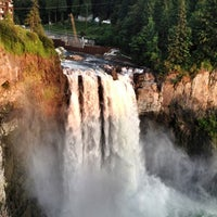 Photo taken at Snoqualmie Falls by Chanda on 7/17/2012