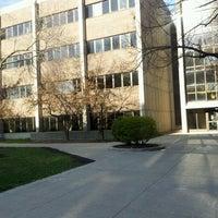 Photo taken at UWM Lapham Hall by Daniel N. on 4/12/2012