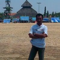 Photo taken at Alun - Alun Demak by AmBond R. on 8/23/2012