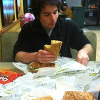 Photo taken at SUBWAY by Tyler E. on 3/6/2012