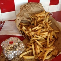 Photo taken at Five Guys by Katie E. on 9/3/2012