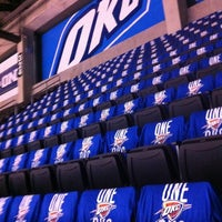 Photo taken at Chesapeake Energy Arena by Traci M. on 5/31/2012