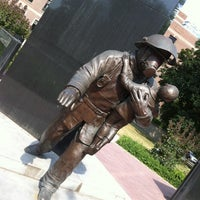 Photo taken at Ontario Fire Fighters Memorial by Andy H. on 7/6/2012