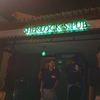 Photo taken at Sherlock's Pub by Juliana X. on 5/3/2012