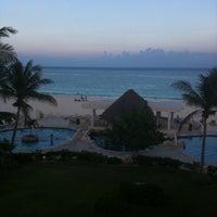 Photo taken at Playa Xaman-Ha by Duke C. on 8/5/2011