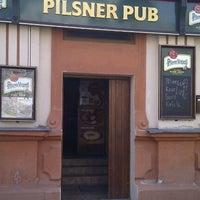 Photo taken at Pilsner Pub & Restoraunt by Ivan S. on 10/5/2011