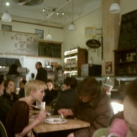 Photo taken at Jolie Cafe & Cocoa Bar by Ron on 12/4/2011